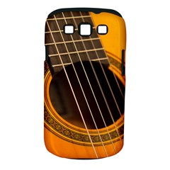 Vintage Guitar Acustic Samsung Galaxy S Iii Classic Hardshell Case (pc+silicone)