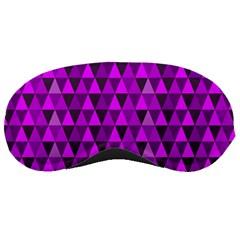 Triangle Purple Sleeping Masks