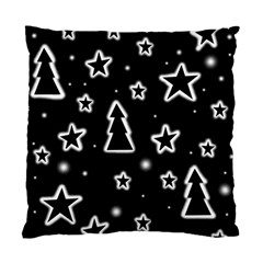 Black and white Xmas Standard Cushion Case (One Side)