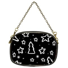 Black and white Xmas Chain Purses (Two Sides)