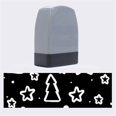 Black and white Xmas Name Stamps