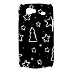 Black and white Xmas Samsung Galaxy Nexus S i9020 Hardshell Case