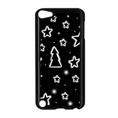 Black and white Xmas Apple iPod Touch 5 Case (Black)