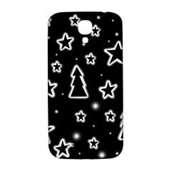 Black and white Xmas Samsung Galaxy S4 I9500/I9505  Hardshell Back Case