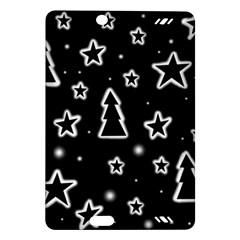 Black and white Xmas Amazon Kindle Fire HD (2013) Hardshell Case