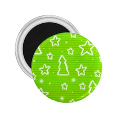 Green Christmas 2.25  Magnets