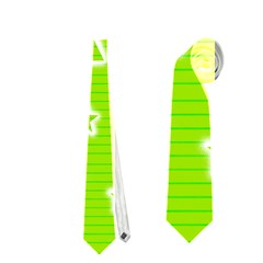 Green Christmas Neckties (One Side)