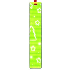 Green Christmas Large Book Marks