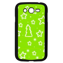 Green Christmas Samsung Galaxy Grand DUOS I9082 Case (Black)