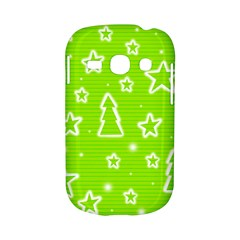 Green Christmas Samsung Galaxy S6810 Hardshell Case