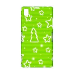 Green Christmas Sony Xperia Z1