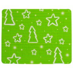 Green Christmas Jigsaw Puzzle Photo Stand (Rectangular)