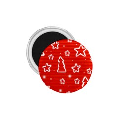 Red Xmas 1.75  Magnets
