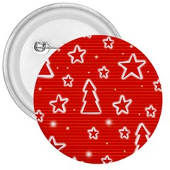 Red Xmas 3  Buttons