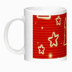 Red Xmas Night Luminous Mugs