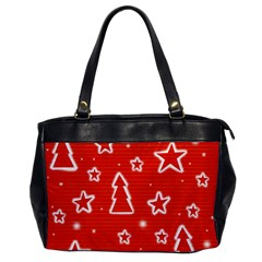 Red Xmas Office Handbags