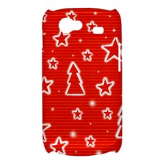 Red Xmas Samsung Galaxy Nexus S i9020 Hardshell Case