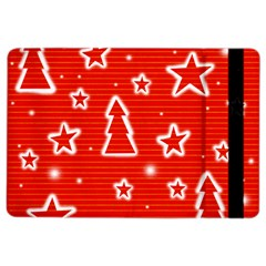 Red Xmas iPad Air 2 Flip