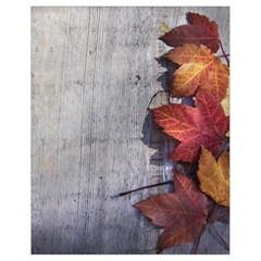 Fall Leaves Drawstring Bag (small)