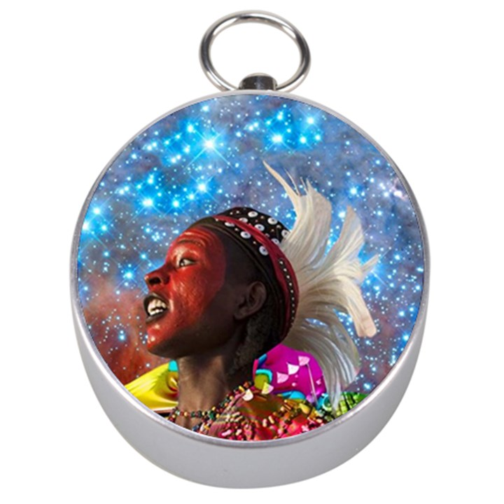 African Star Dreamer Silver Compasses