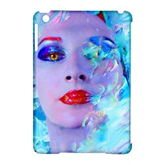 Swimming Into The Blue Apple Ipad Mini Hardshell Case (compatible With Smart Cover)