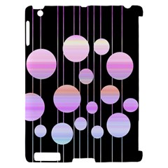 Pink elegance  Apple iPad 2 Hardshell Case (Compatible with Smart Cover)