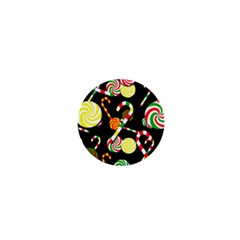 Xmas candies  1  Mini Buttons