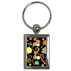Xmas candies  Key Chains (Rectangle)