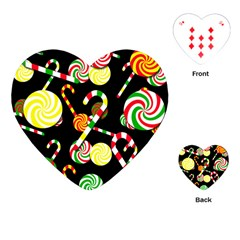 Xmas candies  Playing Cards (Heart)