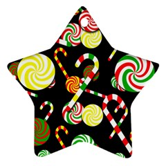 Xmas candies  Star Ornament (Two Sides)