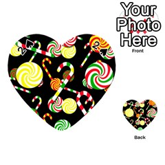 Xmas candies  Playing Cards 54 (Heart)