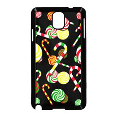 Xmas candies  Samsung Galaxy Note 3 Neo Hardshell Case (Black)