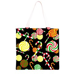 Xmas candies  Grocery Light Tote Bag