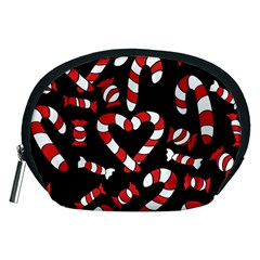 Christmas Candy Canes  Accessory Pouches (Medium)