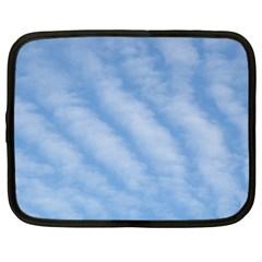 Wavy Clouds Netbook Case (XXL)