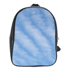 Wavy Clouds School Bags(Large)