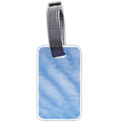 Wavy Clouds Luggage Tags (One Side)