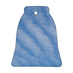 Wavy Clouds Bell Ornament (2 Sides)