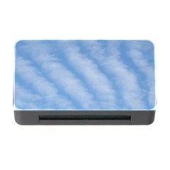 Wavy Clouds Memory Card Reader with CF