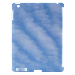 Wavy Clouds Apple iPad 3/4 Hardshell Case (Compatible with Smart Cover)