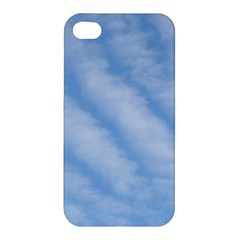 Wavy Clouds Apple iPhone 4/4S Premium Hardshell Case