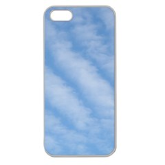 Wavy Clouds Apple Seamless iPhone 5 Case (Clear)