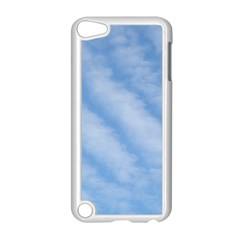 Wavy Clouds Apple iPod Touch 5 Case (White)