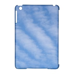Wavy Clouds Apple iPad Mini Hardshell Case (Compatible with Smart Cover)