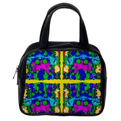 Shimmering Landscape Abstracte Classic Handbags (one Side)