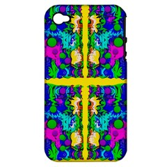 Shimmering Landscape Abstracte Apple Iphone 4/4s Hardshell Case (pc+silicone)