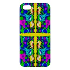 Shimmering Landscape Abstracte Apple Iphone 5 Premium Hardshell Case