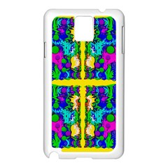 Shimmering Landscape Abstracte Samsung Galaxy Note 3 N9005 Case (white)