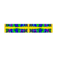 Shimmering Landscape Abstracte Flano Scarf (mini)