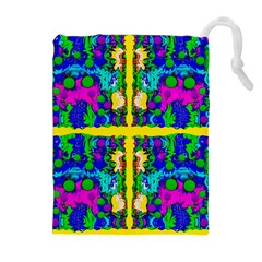 Shimmering Landscape Abstracte Drawstring Pouches (extra Large)